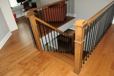 Escaliers D Interieur En Bois Fer Et Verre Concus Par Nos